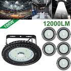 6X 100W UFO LED High Bay Light Factory Warehouse Gym Office Roof Shed Lighting