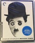 Modern Times Criterion Collection Blu ray Black  White Charlie Chaplin NEW