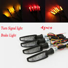 4x 12LED Turn Signal Brake Light For Suzuki Intruder VS 1400 1500 800 Volusia