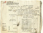 ENGLISH SAILOR ACTING GUNNER PAYMENT DOCUMENT FOR DISCHARGE FROM ROYAL NAVY 1829