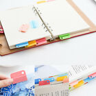 6 Pcs Colorful Writing Photo Paper Clips Photo Holder Memo Clip for Students
