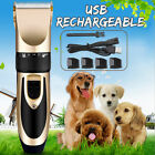 For Cat Dog Pet Animal Hair Grooming Electric Trimmer Clippers Professional Kit