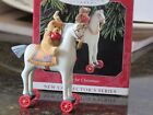 Hallmark A Pony For Christmas 1st In Series 1998 Teddy On Horse  NIP