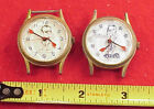 VINTAGE ONE OF THE FIRST RICHARD NIXON SPIRO AGNEW RED HANDS WRISTWATCH PAIRS