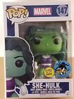 Funko Pop Marvel She-Hulk Marvel Stan Lee's Comikaze Exclusive 147 gitd