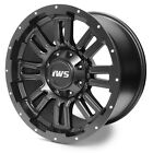 4 Set 17X9 6x135 6x1397 IWS 5006M Matte Black Wheel Rim Ford Chevy GMC Toyota