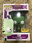 Funko Pop Invader Zim Gir 12 Glow in the Dark Hot Topic Exclusive Nickelodeon