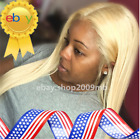 #613 Blonde Lace Front Wig Pre Plucked+Baby Hair Brazilian Straight Wigs 150%