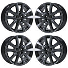 18 LEXUS GS350 GS450 BLACK PVD CHROME WHEELS RIMS FACTORY OEM 74269 EXCHANGE