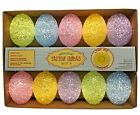 Happy Easter Pastel Eggs String Lights Indoor Battery Operated Spring Decoration
