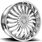 4Rims 22 Borghini Wheels B24 Chrome Rims FS