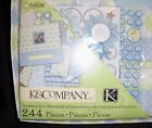 NEW K  COMPANY 12X12 BABY BOY FRAME A NAME SCRAPBOOK KIT PERSONALIZE New