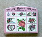 Roses PSX Rubber Stamp Set Foam Mounted 1993 Flowers To From Thank SK112 Unused