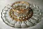 Culver Glass Valencia Serving Plate Candy Dish Platter Bowl Ashtray Vintage