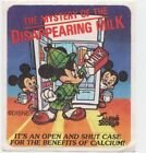 Vintage Mello Smello Disney The Mystery of the Disappearing Milk Sticker