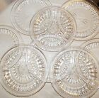Lot of 8 SIGNED GLASS SWEDISH PLATES Hand carved