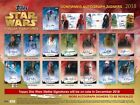 2018 Topps Star Wars Stellar Signatures Hobby Case