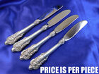 WALLACE GRANDE BAROQUE STERLING SILVER BUTTER KNIFE - EXCELLENT CONDITION
