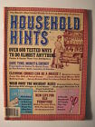 Household Hints Magazine 1982 Pet Care Tips Cat Lovers Sewing Furniture