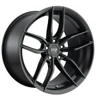QTY4 22 Niche Staggered Wheels M203 Vosso Matte Black Rims FS