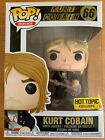 FUNKO POP ROCKS KURT COBAIN # 66 EXCLUSIVE HOT TOPIC EDITION VINYL NEW