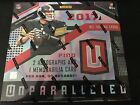 2017 Unparalleled Football Hobby Box Factory Sealed
