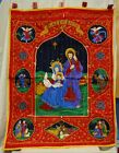 Quilted Nativity Scene plus Peace On Earth 29 x 38