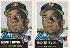 Top 10 Baseball Cards to Remember Monte Irvin 27