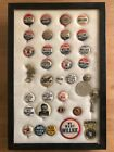 Nice Large Group of Wendell Willkie Campaign Buttons Lot of 33