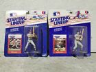 Lot of (2) Kenner 1988 Starting Lineup Baseball Figures MOC