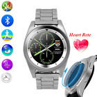 Business Bluetooth Smart Watch Phone Touch Screen Heart Rate Monitor For Samsung