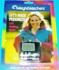 NEW SEALED WEIGHT WATCHERS LETS WALK PEDOMETER  24 PAGE WALKING GUIDE