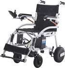 Durable Foldable Electric Wheelchair Heavy Duty Mobility Chair Power Wheelchair