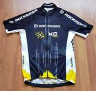 RockRider Mens Vintage Mountain Cycling Jersey Shirt Size S Small Preowned