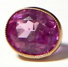 FACETED AMETHYST JEWEL WAISTCOAT BUTTON