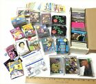 HUGE LOT OF 1200+ NON SPORTS TV SHOWS COMICS MOVIE TRADING CARDS STAR WARS ET