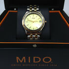MIDO Men's Sliver Gold Two Tone Stainless Steal SWISS Quarts WATCH M2960.9.12.1