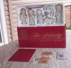 10 PC 1986 LARGE PRECIOUS MOMENTS COME LET US ADORE HIM 9 PC NATIVITY  104000