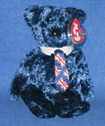 TY POPS the BEAR BEANIE BABY - MINT TAGS - UK VERSION