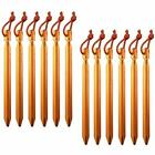 Pack Of 12 7075 Aluminum Outdoors Tent Stakes Pegs