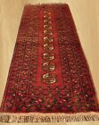 Authentic Hand Knotted Vintage Persian Dowlatabad Wool Area Runner 4.5 x 1.8 FT