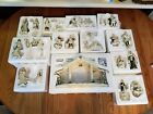 Hawthorne Village Irish Nativity Creche 33 pc set