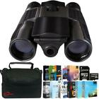 Vivitar 12x25 Binoculars Built in Digital Camera with Photo Editing Kit