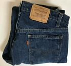 Vintage Mens 80s Levis 505 Orange Tab Denim Jeans Sz 38x30 USA No Big E Dad