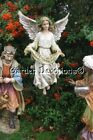 Color Gloria Angel 25 Outdoor Garden Statue with Stand Best Nativity Set Yet