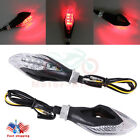 2X LED Turn Signal Light Blinker Red for Honda Dual Sport Dirt Bike Motorcycle