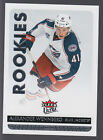 2014-15 Fleer Ultra, Upper Deck Artifacts and MVP Hockey Rookie Redemptions List 16