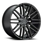 4New 20 Staggered Niche Wheels M164 Anzio Gloss Black Rims FS