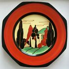 CLARICE CLIFF RED HOUSE 9