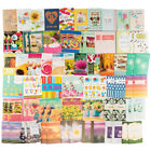 80ct Paper Craft Greeting Cards Assorted Birthday Get Well Sympathy Thank You